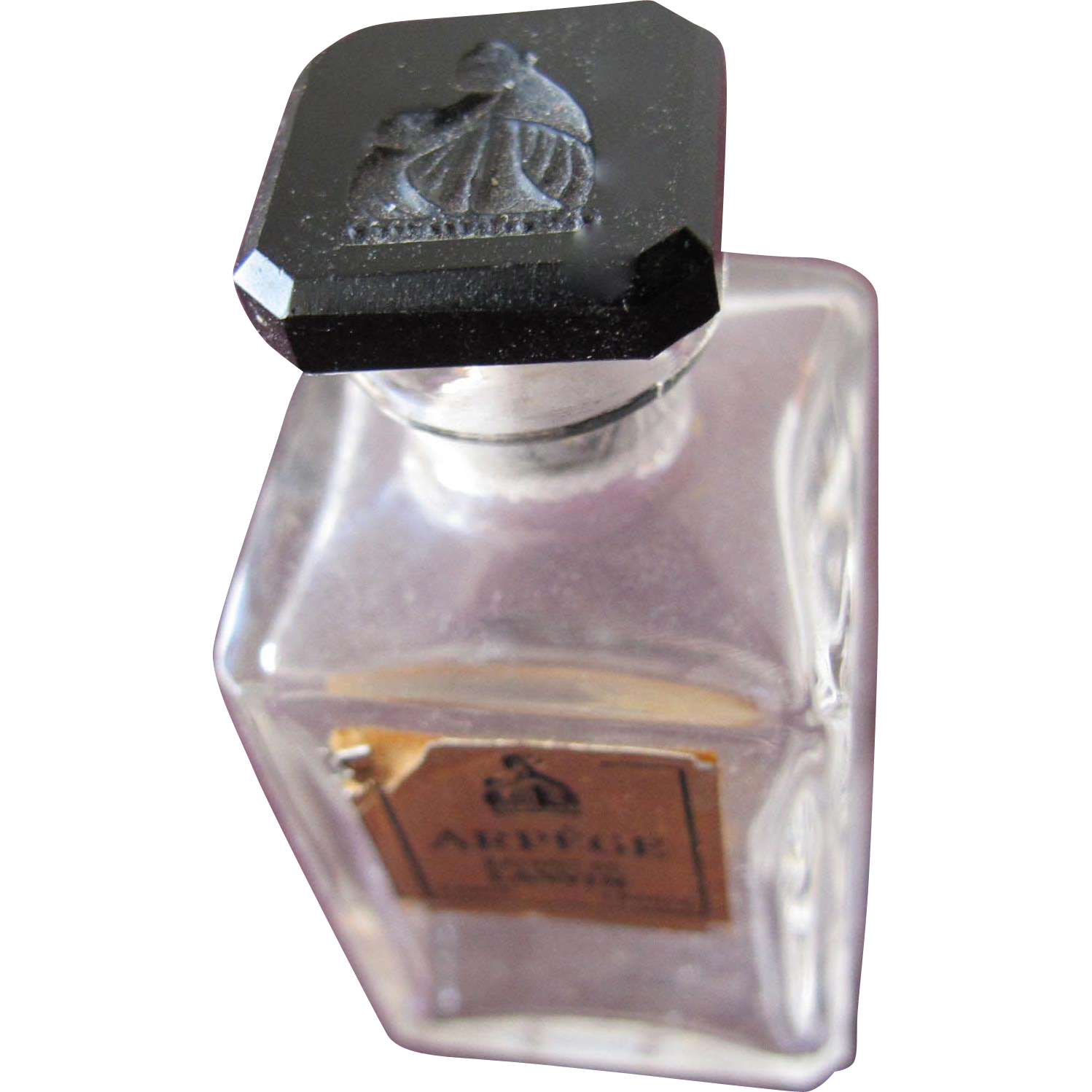 Commercial Perfume Bottle Lanvin Arpege 1927