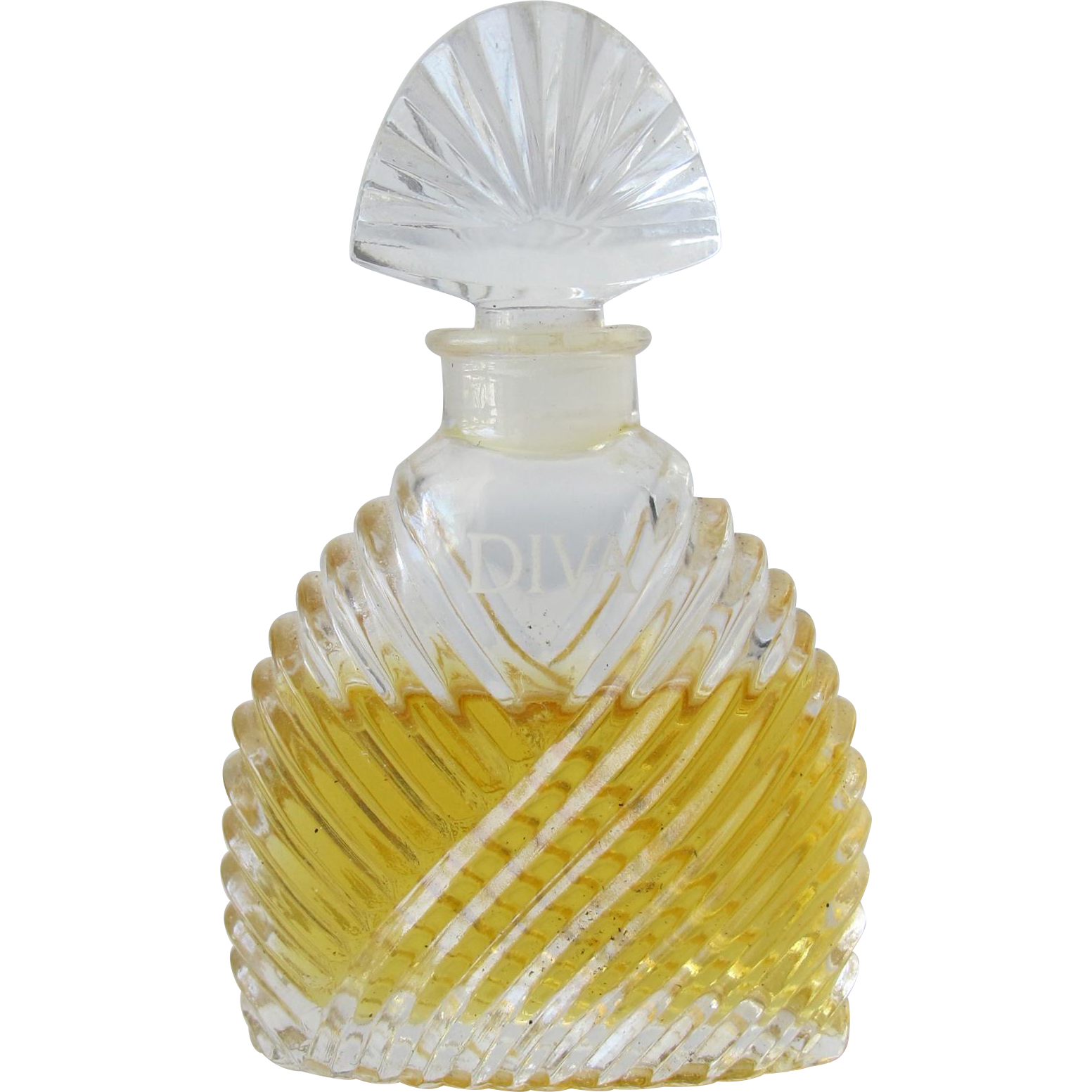 Mini Perfume Bottle All Glass Diva by Ungaro Classy