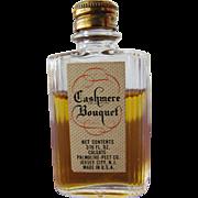 Colgate Mini Perfume Bottle Cashmere Bouquet 1893