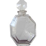 Ciro Perfume Bottle Surrender 1932 Number and Initial