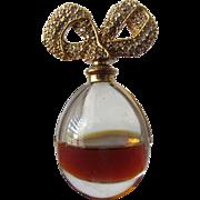 Elizabeth Taylor Perfume Bottle Diamonds with Jeweled Stopper