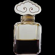 Perfume Bottle by Estee Lauder Cinnabar 1980's