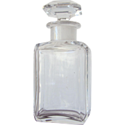 Baccarat Perfume Bottle Crystal and Marked