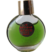 Micro Mini Perfume Bottle by Worth Je Reviens Paris France