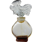 Guerlain Mini Perfume Bottle Paris France Parure All Glass