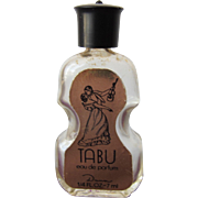 Tabu Mini Perfume Bottle by Dana