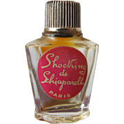 Micro Mini Schiaparelli Perfume Bottle Shocking with Label