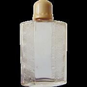 Vintage Art Deco Chypre De Coty Glass Perfume Bottle