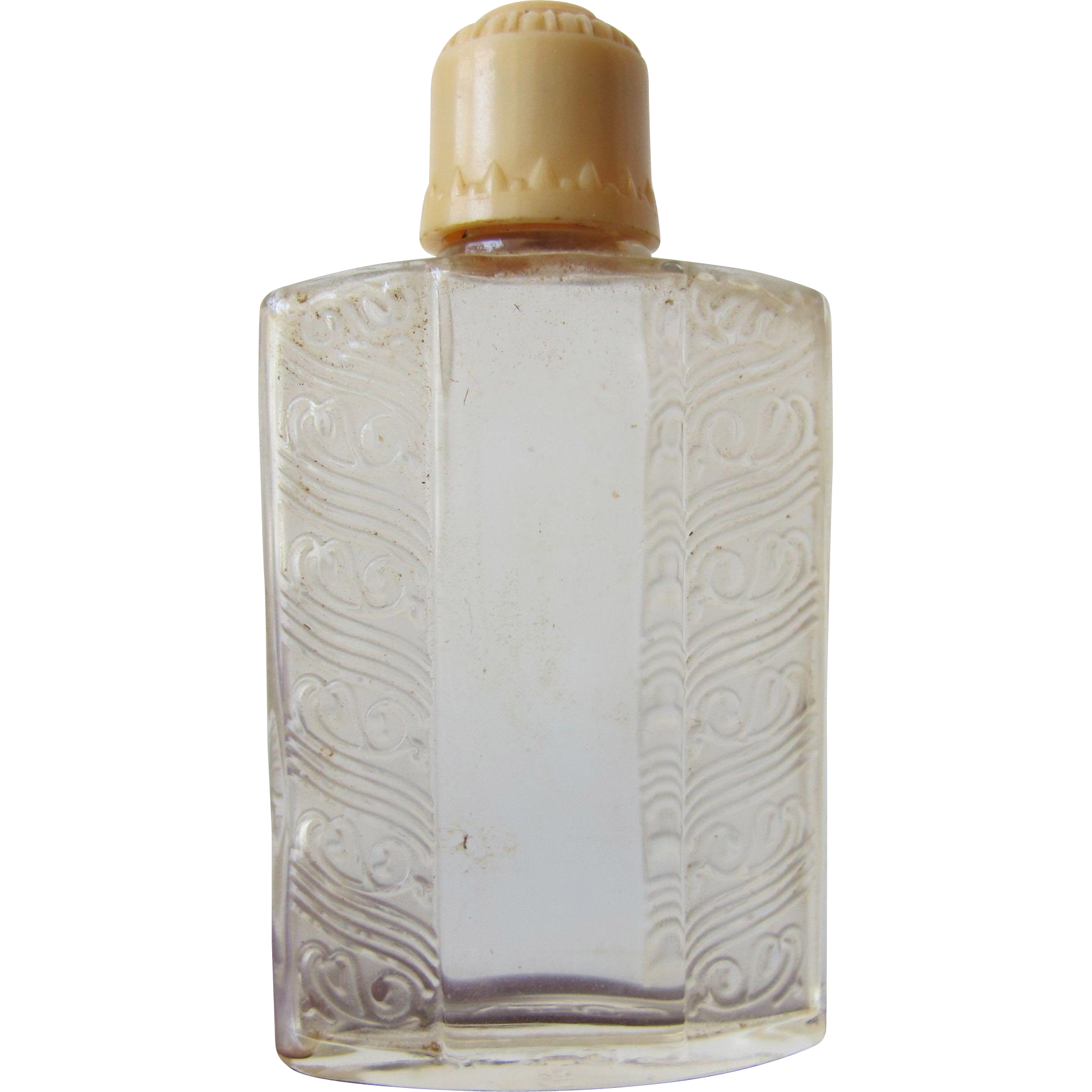 Vintage Art Deco Chypre De Coty Glass Perfume Bottle