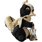 Novelty Perfume Bottle Lil Stinker Skunk with Atomizer in Tail
