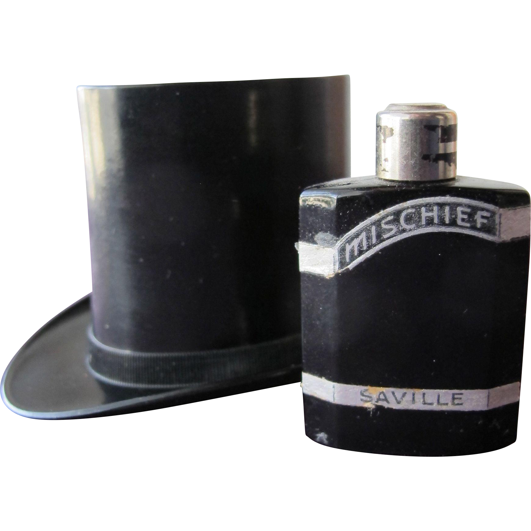 Mischief Perfume Bottle In Hat Box by Saville