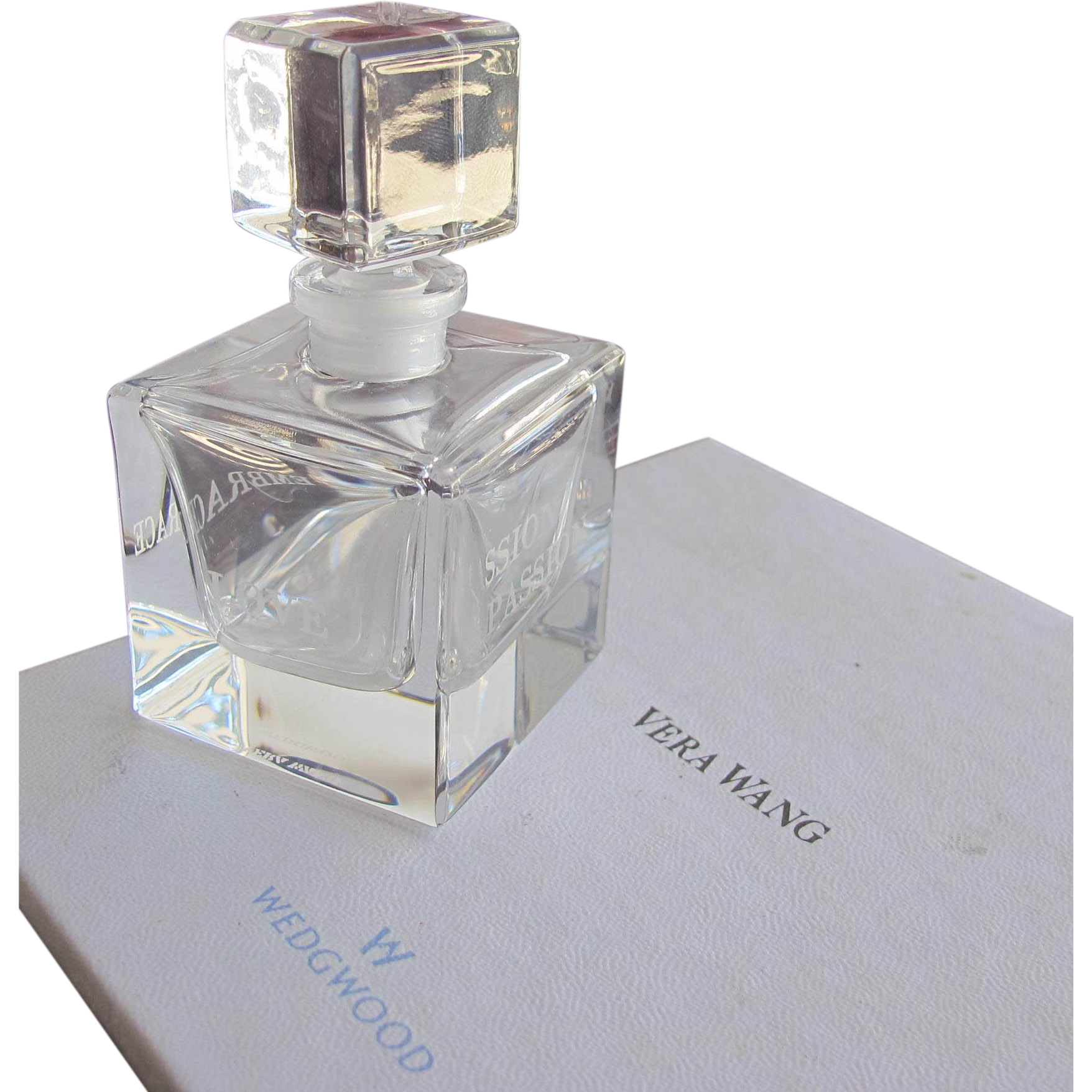 Vera Wang Wedgwood Perfume Bottle in Box Crystal in Box