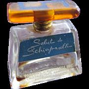 Vintage Schiaparelli Perfume Bottle Mini Commercial Salut de Schiaparelli