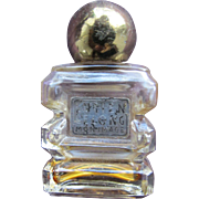 Vintage Mini Perfume Bottle Lucien Lelong Mon Image 1933