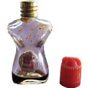 Vintage Mini Perfume Bottle Shocking Tiny Schiaparelli Novelty Perfume