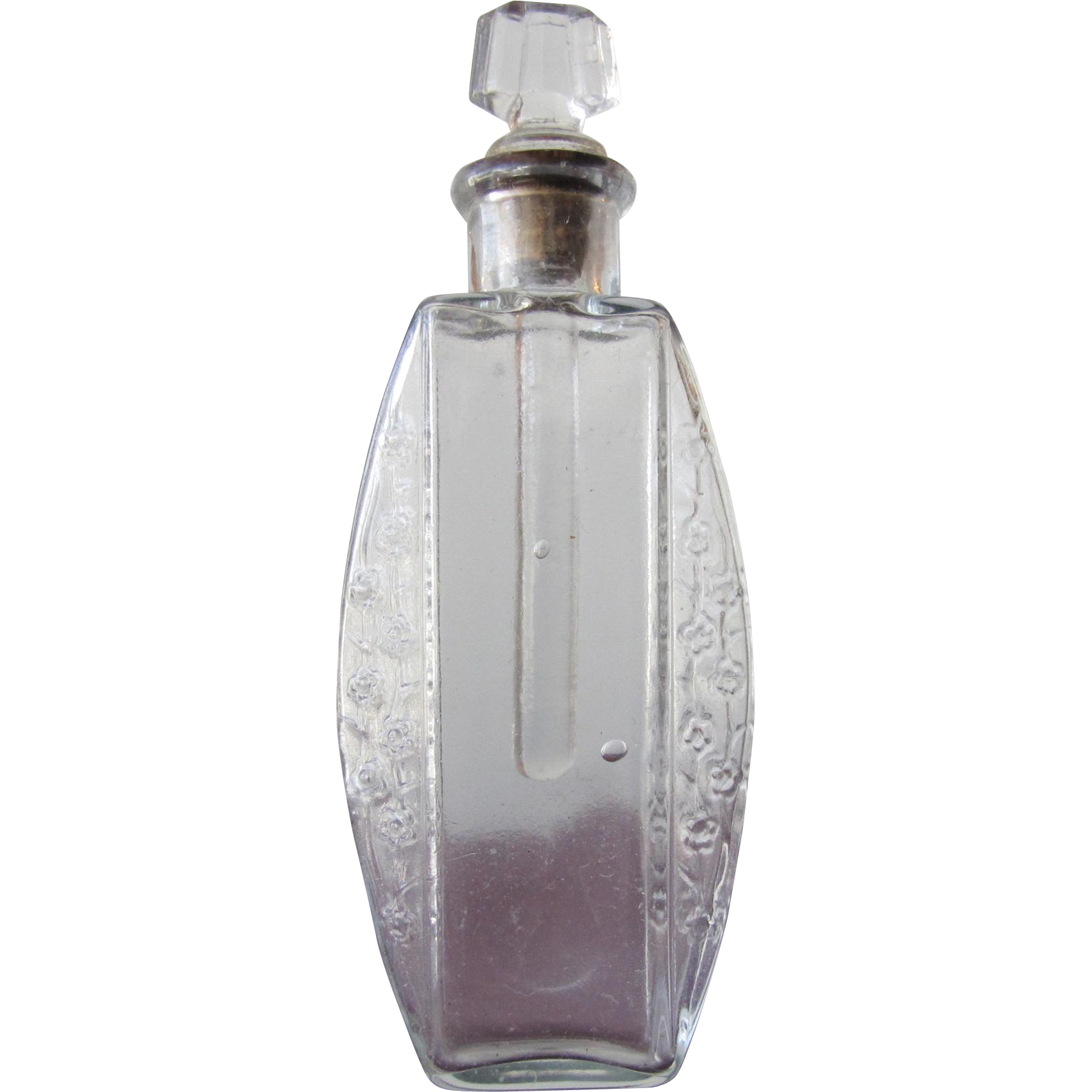 1900 Commercial Perfume Bottle with Cork and Dauber