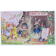 Post Card Dressed Bunnies Animals Racey Helps