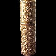 Caron Perfume Bottle Container Fleurs de Rocaille Traveling Scent Bottle