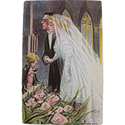SALE Post Card Wedding Funny Love and Life Series