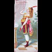 Victorian Trade Card For Tobacciana Cheap John Great Condition