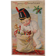 Christmas Postcard Artist Kathleen Gassaway Tucks Publisher