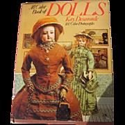 Dolls Book by Kay Desmonde 1974 Vintage Doll Book 100 Color Photographs