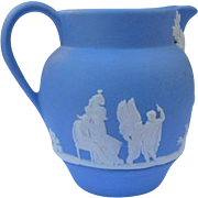Wedgwood Creamer Small Ewer Medium Blue