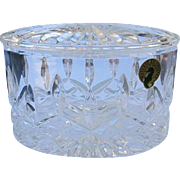 Waterford Crystal Jewelry Box Trinket Box Perfect Condition Candy Jar