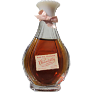 Houbigant Perfume Bottle with Chantilly Scent in Great Condition