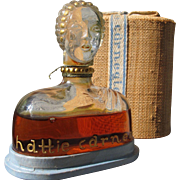 Hattie Carnegie Perfume Bottle in Box Figural Perfume bottle 1928