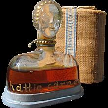 Hattie Carnegie Perfume Bottle in Box Figural Perfume bottle 1928
