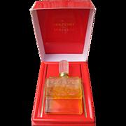 Lalique Perfume Bottle By Molinard Boxed Molinard de Molinard Parfum