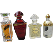 Guerlain Mini Perfume Bottles with Perfume