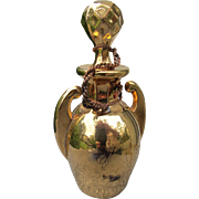 Antique Perfume Bottle from 1865  Gold Perfume Bottle