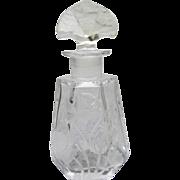 Rare Luxor Perfume Bottle Lybis Czechoslovakian Commercial 1923