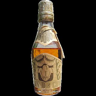 Champagne Perfume Bottle by Caron 1924-1950 Royal Bain De Champagne