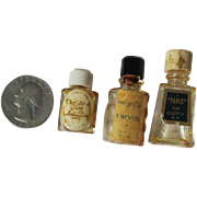 Mini Perfume Bottle Micro Small Vintage Commercial Dior Coty Craven