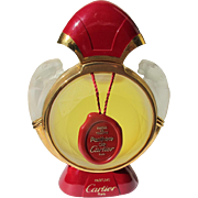 Cartier Perfume Bottle Designer Factice for Pathere de Cartier Inner Stopper