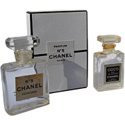Mini Perfume Bottles Chanel No 5 with Box and Coco Chanel Perfume Bottle