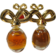 Mini Perfume Bottles Elizabeth Taylor Diamonds and Emeralds Bows Perfume