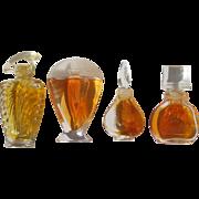 Mini Perfume Bottles Guerlain Vanderbilt Aubusson Couture