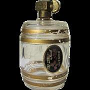 Novelty Perfume Bottle Glass Barrel with Brass Tap by Karoff Novelty Perfume