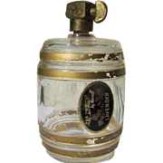 Novelty Perfume Bottle Glass Barrel with Brass Tap by Karoff Novelty Perfume