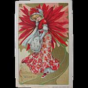 Winsch Postcard Christmas 1910 by Dwig