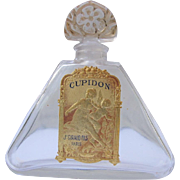 Giraud Perfume Bottle Paris France Perfect Label 1912-1922