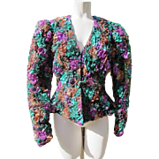Dress up Jacket Top Great Condition Size 8-10  JFK Provenance Retro Vintage