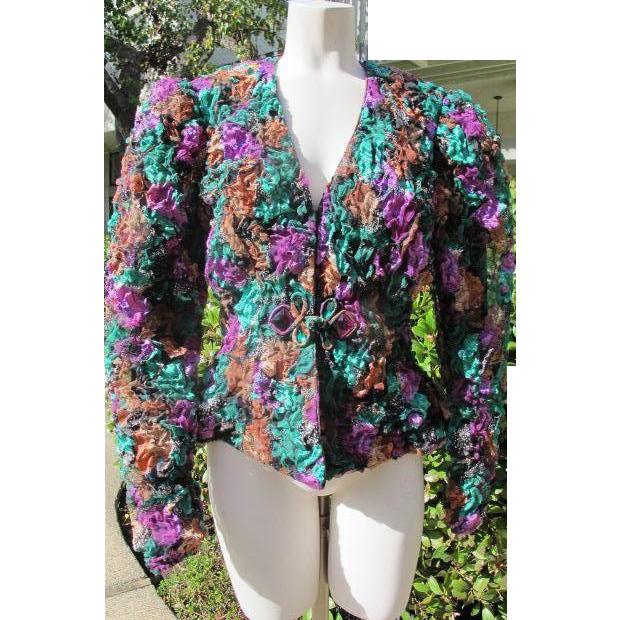 Dress up Jacket Top Great Condition Size 8-10  JFK Provenance Retro Vintage