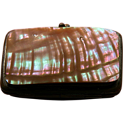 Victorian Authentic Mother of Pearl Purse for Smalls 1850-1880