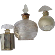Commercial Perfume Bottles 1895-1920 Ex Condition