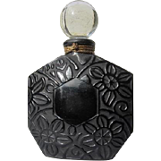 Ombre Rose Perfume by Brosseau 1981 Empty Black Flowers